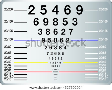 Eye Chart Download Free Vector Art Stock Graphics Images