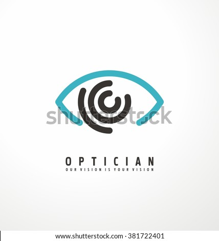 eye vector logo design idea