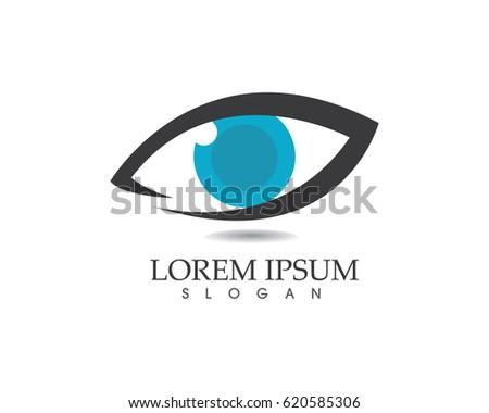 Eyes care logos
