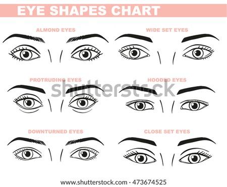 eye shape design illustration art download free vector art stock