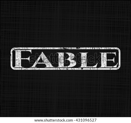 Fable chalk emblem