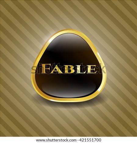 Fable golden emblem