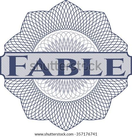 Fable linear rosette