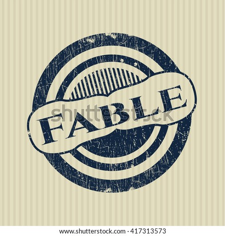 Fable rubber grunge seal