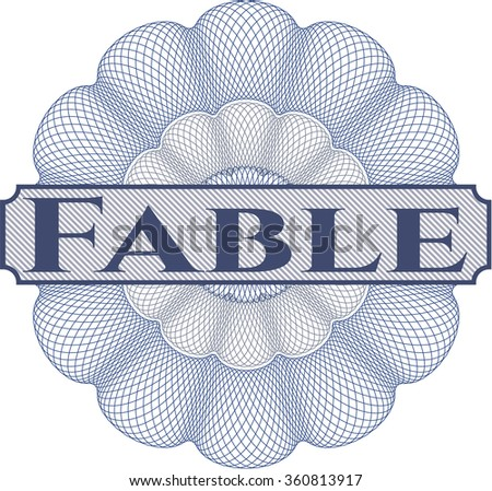 Fable rubber grunge texture stamp