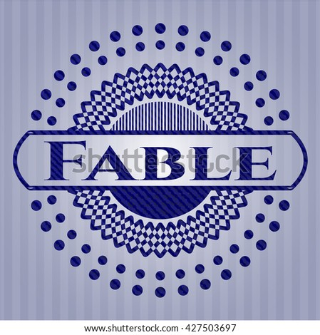 Fable with jean texture
