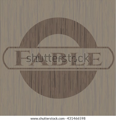 Fable wooden signboards