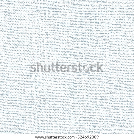 Fabric canvas overlay texture. Vector seamless pattern
