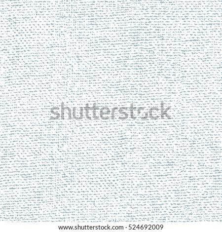 Fabric canvas overlay texture. Vector seamless pattern