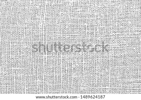 Fabric texture. Cloth knitted, cotton, wool background. Vector background. Grunge rough background.Distress used texture.canvas
