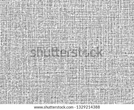 Fabric texture. Cloth knitted, cotton, wool background. Vector background. Grunge rough dirty background. Brushed black paint cover. Renovate wall frame grimy backdrop. Empty.Pattern.