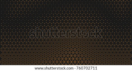 Facade geometry. Architectural design.Pattern vector, print production wallpaper. Modern wall decorative of grid flat texture, gradient background.