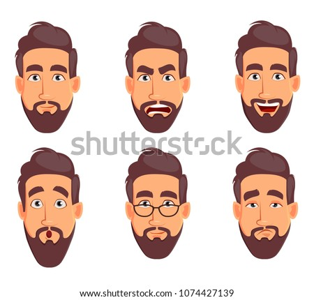 stock-vector-face-expressions-of-business-man-different-male-emotions-set-handsome-cartoon-character-vector