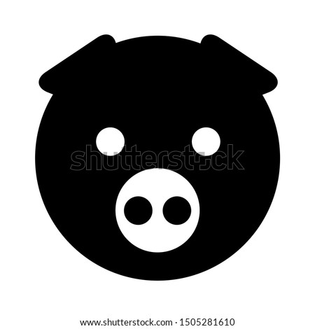 face pig icon - From pets, vet and veterinary icons, Animal icons