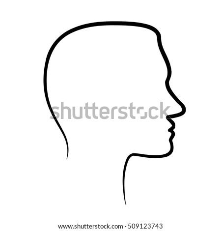 15 side profile face vectors download free vector art graphics
