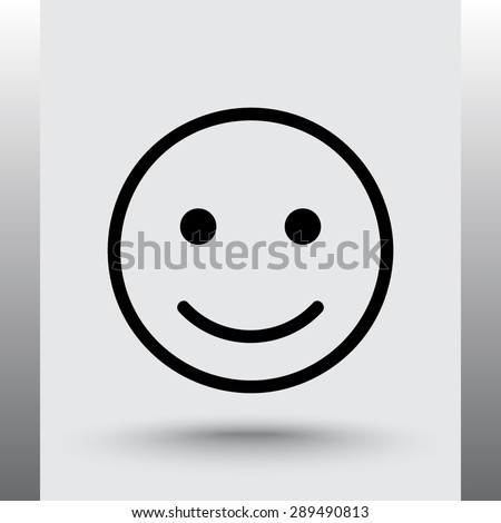 face sign icon  vector
