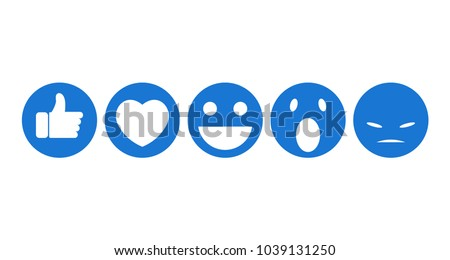 facebook emoji funny flat