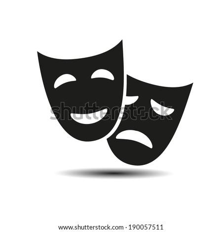 facial mask symbol