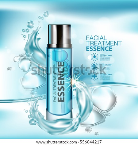 Facial Treatment Essence Skin Care Cosmetic. #556044217