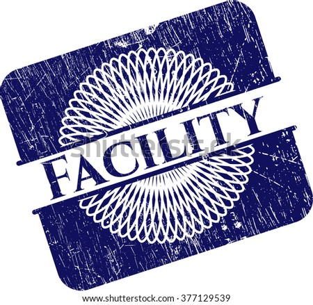 Facility rubber stamp