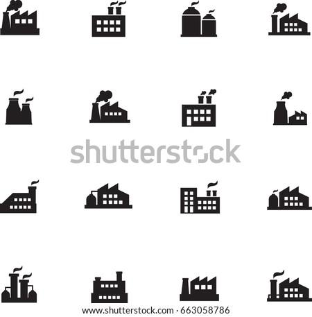 Factories icons