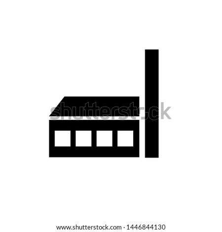 factory icon. factory symbol.vector illustration