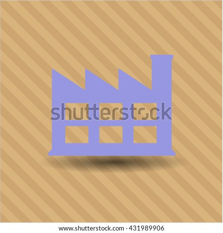 Factory icon or symbol