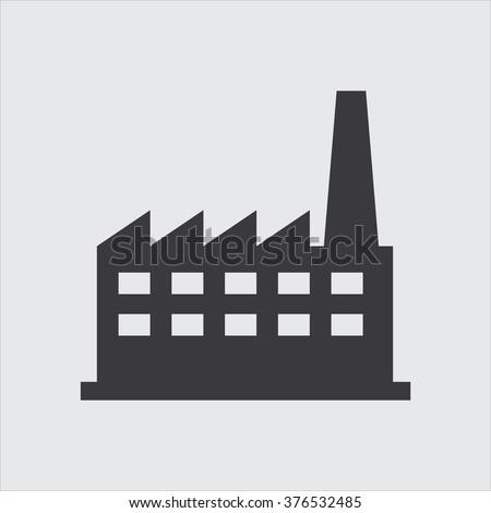 Factory icon . Vector illustration