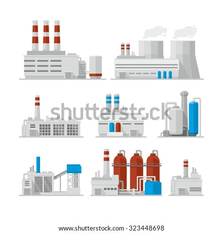 factory industrial buildings