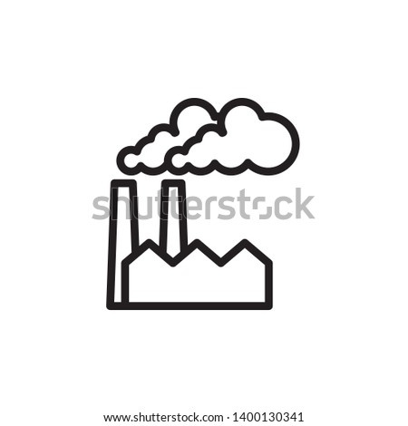 factory, industrial icon, symbol template