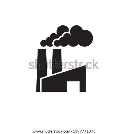 factory, industrial icon vector template