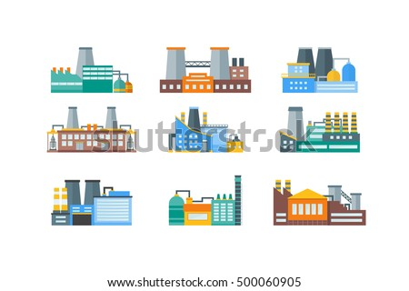 factory or industrial building...