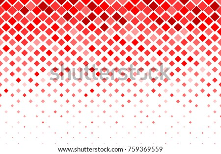 Fade square random color red background