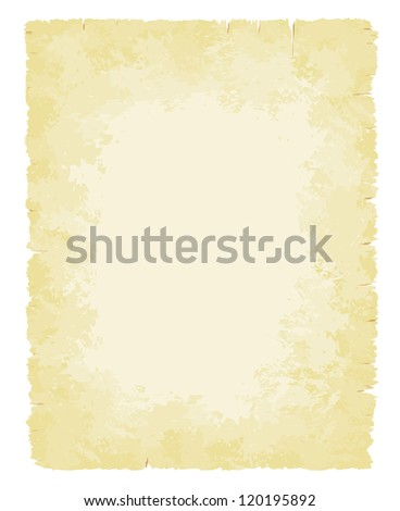 Faded and warn old paper background vector illustration