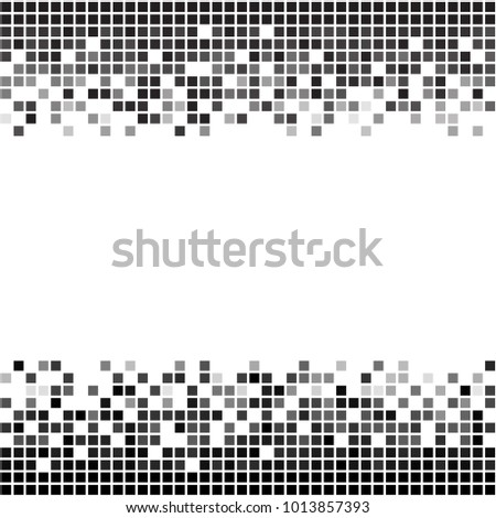fading greyscale border pixel