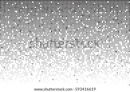 fading greyscale pixel pattern