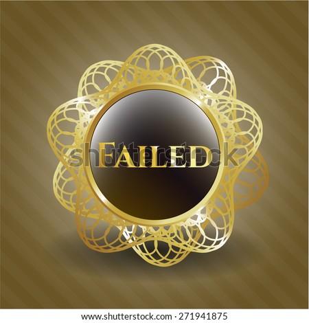 Failed shiny gold object