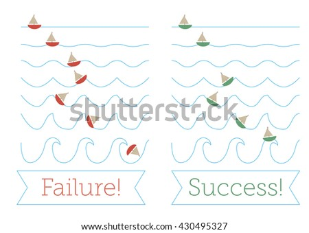 failure or success as ships at