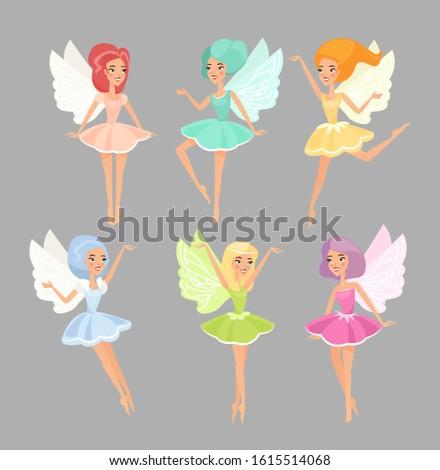 Medium Spring Fairy Pixie Girls Child Costume w//Wings