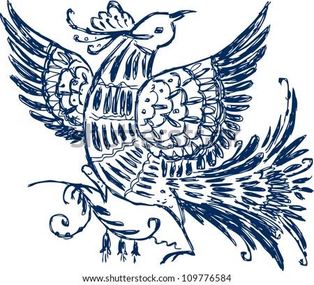 Fairy bird #109776584