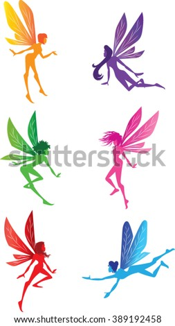 fairy clip art   vector