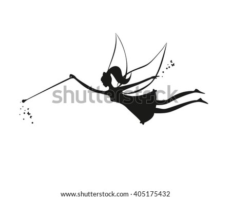 fairy flying fairy black