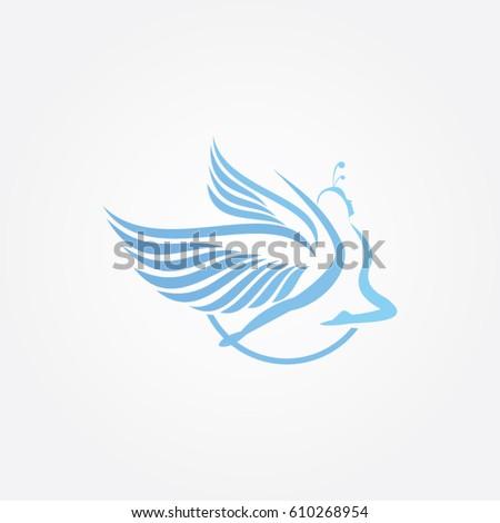 fairy icon to logo beauty