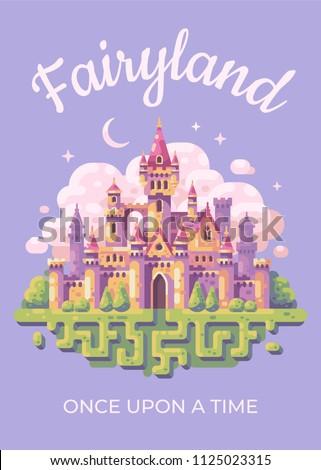 fairy tale castle flat