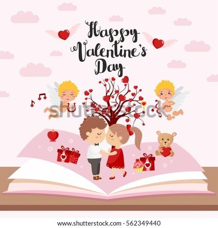 fairy tale concept valentine's