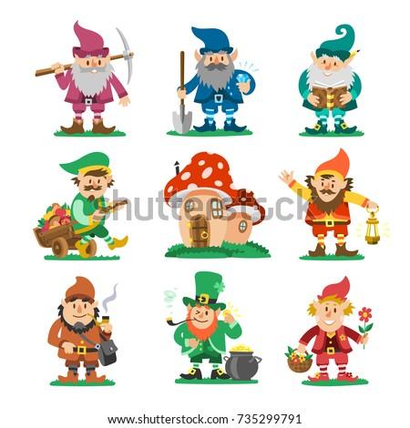 fairy tale fantastic gnome