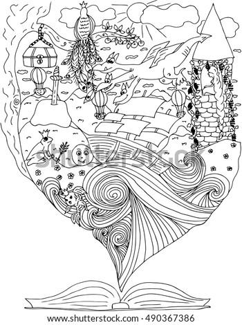 fairy tale journey in world of