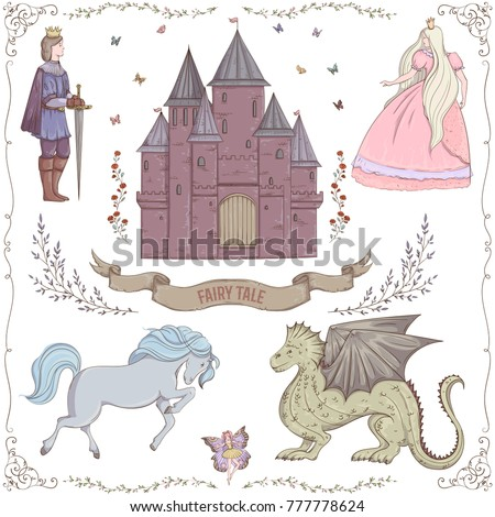 fairy tale theme prince