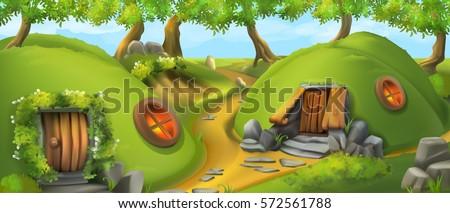 fairy tale village leprechaun