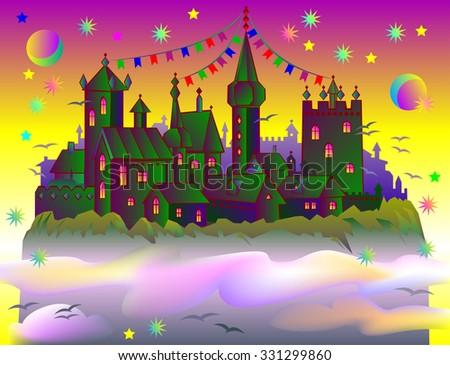fairyland fantasy castle